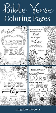 Get creative with your Bible study time by coloring your favorite Bible verses! Access our collection of free printable coloring pages for women and children. Printable Bible Verses, Scripture Cards, Prayer Journal Printable, Free Bible Study, Bible Study For Kids, Bible Verse Coloring Page, Verses For Kids, Journaling, To Color