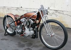 47 harley davidson knucklehead chopper