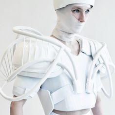 Whiteness by Julia Krantz #fashionfriday