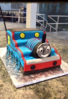Thomas the Train Cake Birthday Cake