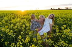 NJ Humphrey Photography Captured in the Canola Family Portrait York Western Australia