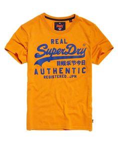 SUPERDRY Angebote Superdry Vintage Authentic T-Shirt mit Sprenkelmuster: Category: Herren / T-Shirts / T-Shirt mit Print Item…%#Mode%