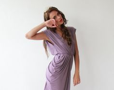 Purple  Sexy  Maxi Dress  Prom Dress by BLUSHFASHION on Etsy, $159.00