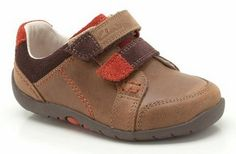 7ebe65ca03b Clarks Brown Softly Leather Sneaker by Clarks