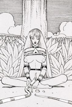 Resultado de imagen para moebius giant penis comic