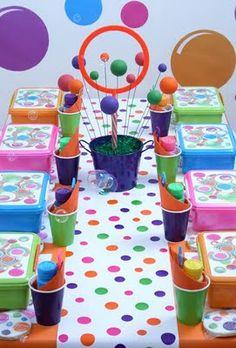 Bubble party ideas
