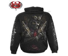 Spiral #direct steam punk #bandit #hooded,skull/gothic/biker/pullover/hood/hoodie,  View more on the LINK: http://www.zeppy.io/product/gb/2/230894295101/