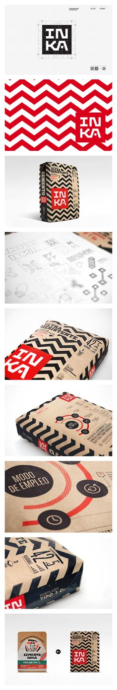 Cementos Inka | #corporate #design #corporatedesign #identity #logo #branding #stationary