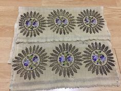 OTTOMAN turkish gold embroidery towel - $299.00. ottoman gold embroidery towel please study photos carefully dimensions length:135cm width:48m ı will ship with turkish postal service. delivery time7-12 days. 232620974625