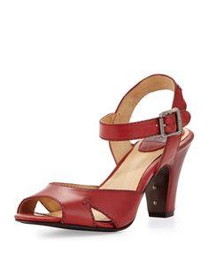 eadf3ebe6caefb Frye Skyler Seamed Leather Sandal
