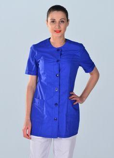 Tunique médicale couleur bleue