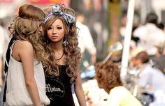 GYARU Gyaru Fashion, Kpop Fashion, Kawaii Fashion, Lolita Fashion, Asian Fashion, Teen Fashion, Japan Street, Ideal Beauty, Popular Girl