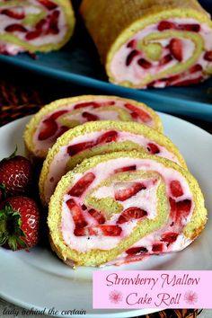 Strawberry Mallow cake