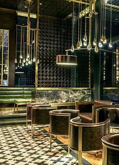Beautiful bar lighting project