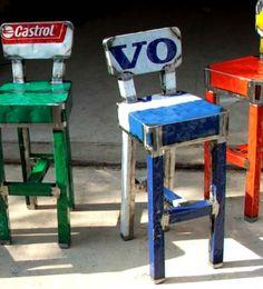 Dobey Sgabello www.vibrazioniartdesign.com