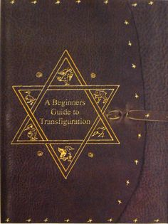 A beginner's guide to transfiguration. Someday, I'll refinish an old book with this cover.