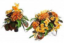 Kompozycje Nagrobne Dekoracje Kwiaty Sztuczne Wiazanki Stroiki Na Cmentarz Sklep Internetowy Strona 2 Hurtownia Rojek Deco Floral Wreath Floral Candles