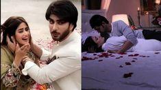 Imran Abbas and Sajal Aly romantic Drama scene. Pakistani Dramas, Pakistani Actress, Drama Gif, Iqra Aziz, Sajal Ali, Romantic Scenes, Hippie Outfits, Girl Photography Poses, Teaser