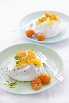 Baking with Kumquats: a Pistachio Pavlova, Chocolate Financiers and a Pot of Jam :: Cannelle et VanilleCannelle et Vanille