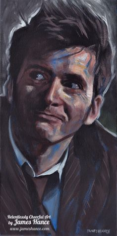 David Tennant.  'I Think You Look Like Giants' Click thru to purchase print $15