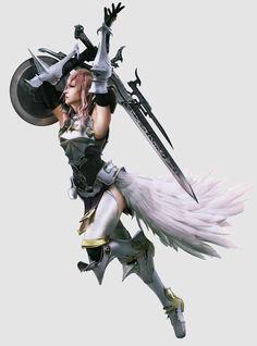Final Fantasy XIII-2 Lightning