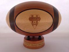 CABCL Ballon de rugby en bois