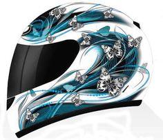 ladies helmet butterfly motorcycle - See this image on Photobucket.