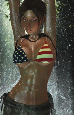 Lara-Temple-of-Osiris-zippeR bikini2 by 7ipper.deviantart.com on @DeviantArt