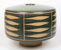 Karl Scheid (German, b.1939)  | Earthenware vase for Rosenthal, 1991