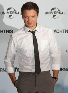 Jeremy Renner in Berlin for Bourne Legacy Premiere
