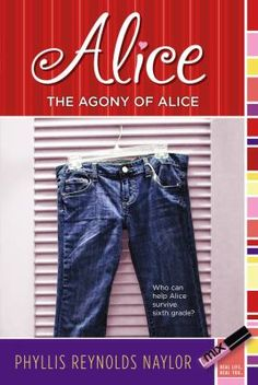 The Agony of Alice (and series) by Phyllis Naylor (challenged for nudity, offensive language, and religious viewpoints)