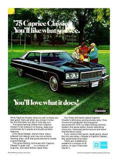 1975 Caprice Classic Sport Sedan