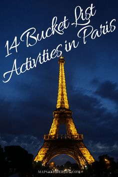 Things to do in paris with your boyfriend