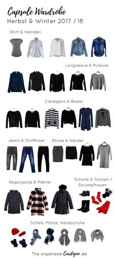 LOVE these colors Capsule Garderobe Herbst Winter 2017 2018 Capsule Wardrobe 2018, Capsule Outfits, Fashion Capsule, Wardrobe Basics, Mode Outfits, Winter Wardrobe, Capsule Clothing, Wardrobe Clothing, Wardrobe Ideas
