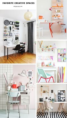 5 Creative workspace inspirations | DESIGN IS YAY!