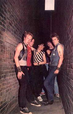 """"""" Somebody told me to go to CBGB's to see the greatestband in the world, the Dead Boys. So I went down one night when theywere playing, and I walk in and the first thing I see is Stiv getting headonstage. The very first thing.""""  Bebe Buell -From 'Please Kill Me'"""