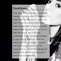 Deathbeds by Bring Me The Horizon Ft Hannah Snowdon #bmth #deathbeds #hannahsnowdon