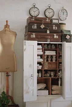 Decorar con maniquíes vintage :: Decorate with vintage mannequins_12