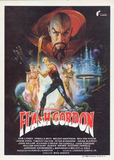 High resolution Spanish movie poster image for Flash Gordon The image measures 2500 * 3475 pixels and is 1613 kilobytes large. Fantasy Movies, Sci Fi Movies, Old Movies, Action Movies, Movie Tv, Iconic Movies, Indie Movies, Comedy Movies, Marvel Movies