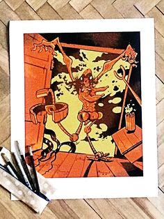 Polednice - Vladimír Strejček #komiksovakytice #ceskygrimm #kjerben #polednice Grimm