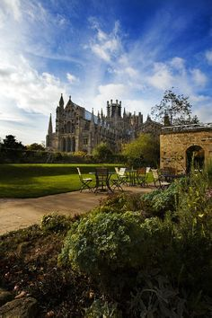 Ely Cathedral, Cambridgeshire, England - English ancestors from Cambridgeshire  and other locations in England