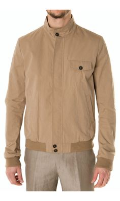 Band of Outsiders Cotton Bomber Jacket - #menswear
