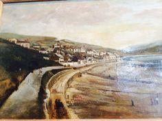 Old Painting of Lyme Regis