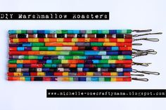 One Crafty Mama!: DIY Marshmallow Roasters - Summer Fun!