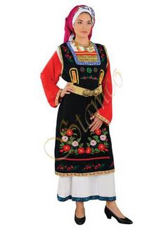Greek Traditional Ethnic Folklore Costumes made in Hellas Greece by ...