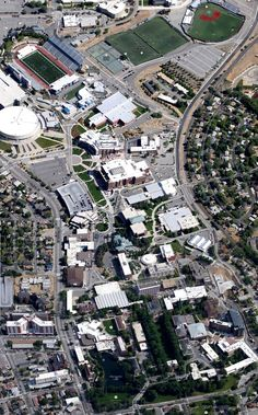 Google Earth View of the University of Nevada Reno campus