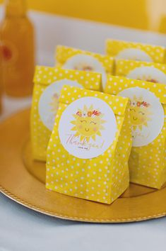 """Kara's Party Ideas """"You Are My Sunshine"""" Birthday Party Baby First Birthday, First Birthday Parties, Girl Birthday, First Birthdays, Birthday Ideas, Birthday Presents, Birthday Cakes, Boy Party Favors, Baby Shower Favors"""