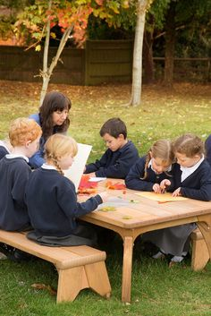 Outlast tables: There's no better place for learning than the great outdoors. Why wait until summer?