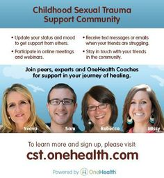 cst.onehealth.com Childhood Sexual Trauma support community