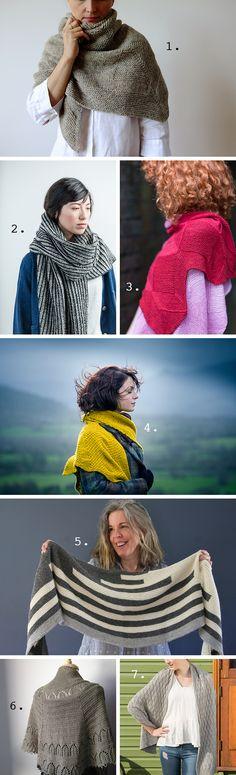 A shawl for Fall (Fringe Association) Knitting Blogs, Knitting Yarn, Knitting Projects, Hand Knitting, Shawl Patterns, Knitting Patterns, Knit Crochet, Crochet Hats, Ear Warmer Headband